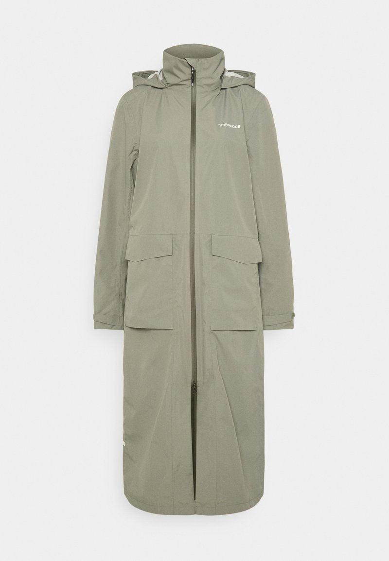 Didriksons - NADJA COAT - Classic coat - mistel green