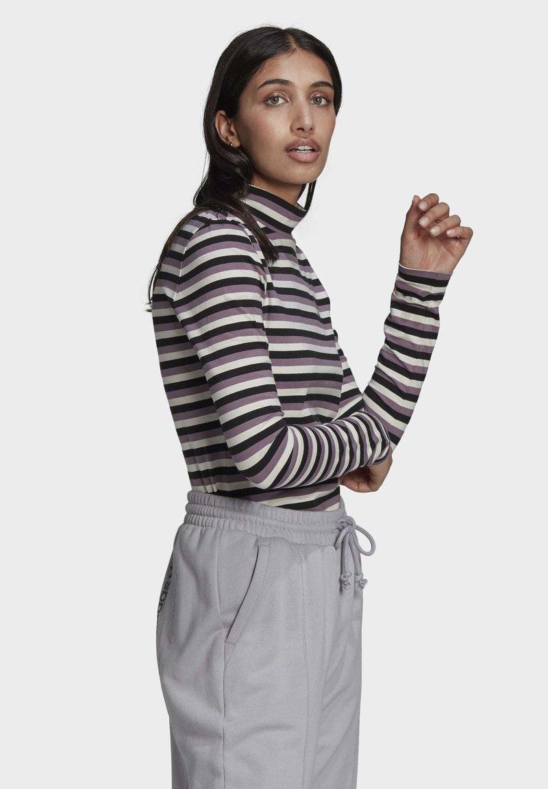adidas Originals - SPORTS INSPIRED LONG SLEEVE - Camiseta de manga larga - black/owhite