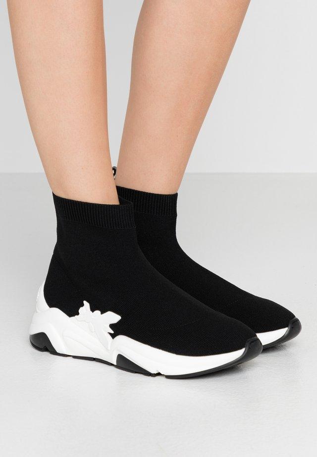 Sneakers hoog - nero