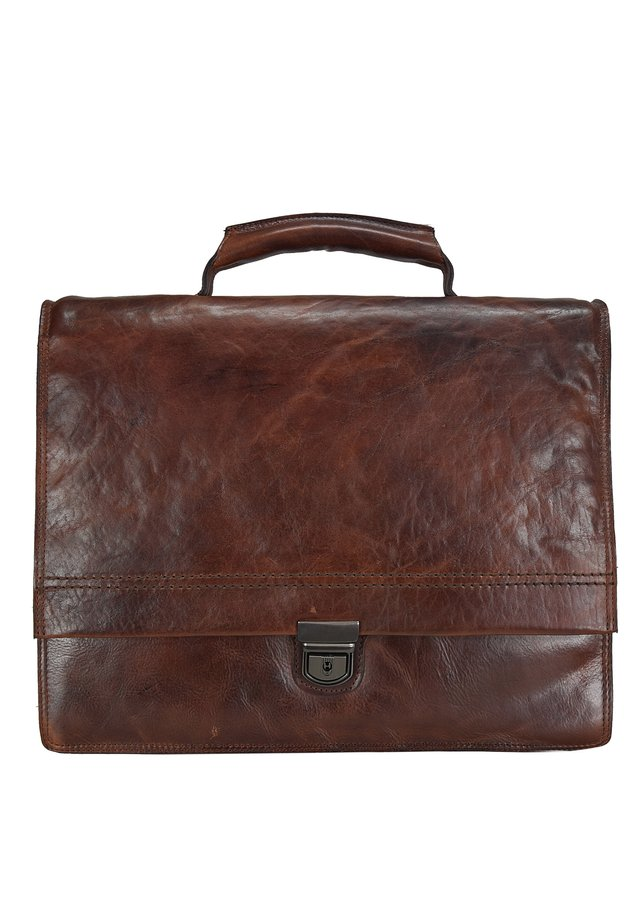 SADDLE  - Briefcase - brown