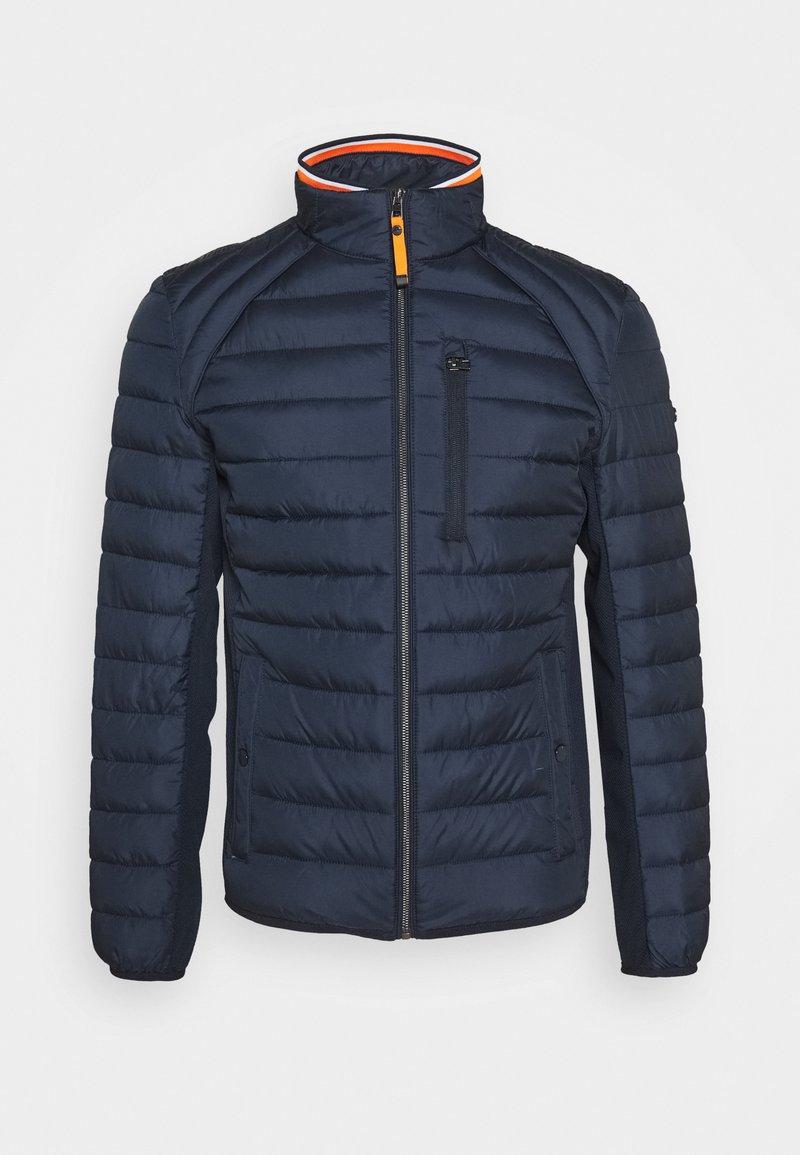 TOM TAILOR - HYBRID JACKET - Light jacket - dark blue