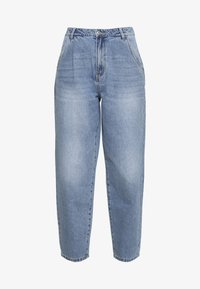 NMSELLA SLOUCHY  - Džíny Relaxed Fit - light blue denim