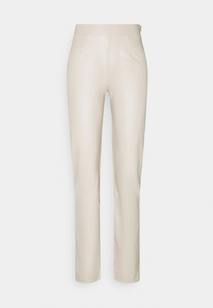 TAILORED PANTS - Trousers - beige