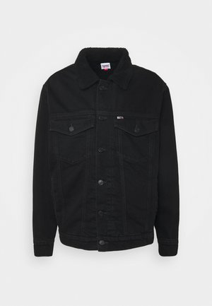 UNISEX - Denim jacket - kalmar black