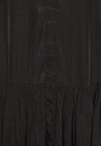 Glamorous - TIERED DRESS - Sukienka koszulowa - black - 5