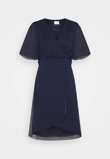 VIRILLA 2/4 SLEEVE DRESS - Cocktail dress / Party dress - navy