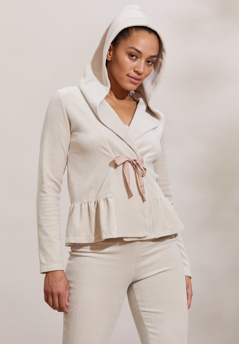 Odd Molly - HELENA - Zip-up sweatshirt - ash