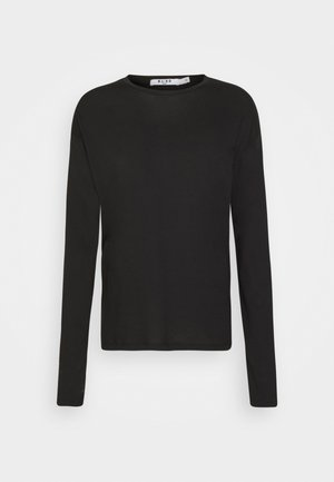 LONG SLEEVE BASIC - Long sleeved top - black