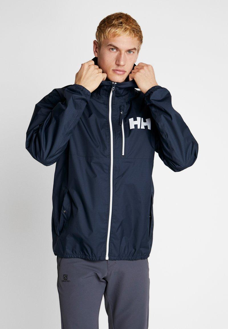 Helly Hansen - BELFAST PACKABLE JACKET - Waterproof jacket - navy