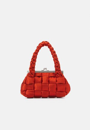 WEAVE GRAB - Bolso de mano - orange