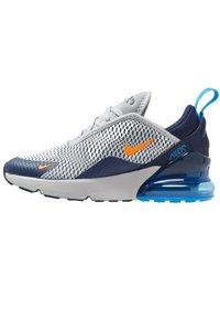 Nike Sportswear - AIR MAX 270 UNISEX - Sneakers laag - wolf grey/total orange/midnight navy/photo blue - 1