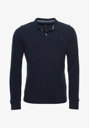 Polo shirt - midnight navy grit