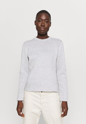 SIGHT CREW NECK - Mikina - alloy/lunar rock/heather