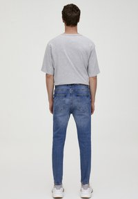 PULL&BEAR - Jean slim - light blue denim - 2