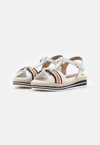 TOM TAILOR DENIM - Platform sandals - offwhite - 2