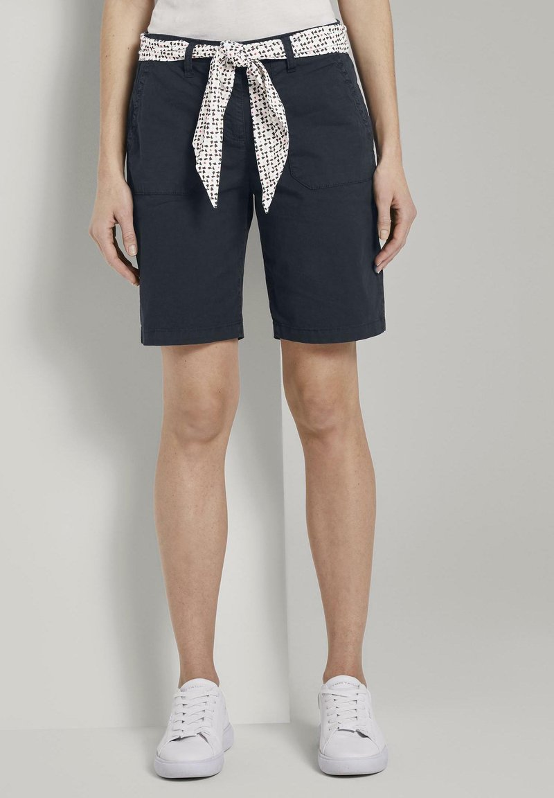 TOM TAILOR - BERMUDA - Shorts - sky captain blue