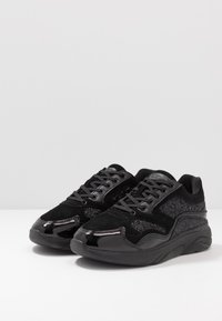 Kurt Geiger London - STREATHAM - Sneakers basse - glitter black - 2