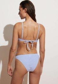 OYSHO - Bikini bottoms - blue - 2