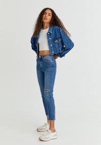 PULL&BEAR - Denim jacket - mottled blue - 6