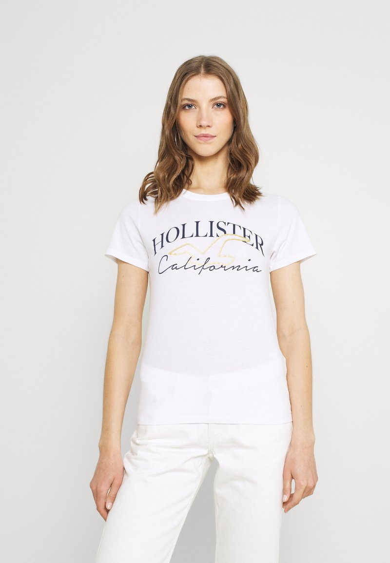 Hollister Co. - T-shirts - white