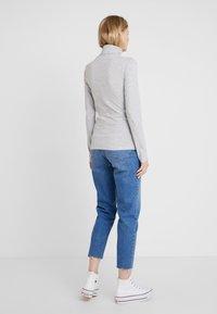 Zalando Essentials - T-shirt à manches longues - mottled light grey - 2