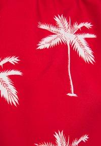 Dedicated - SANDHAMN PALMS - Shortsit - red - 2