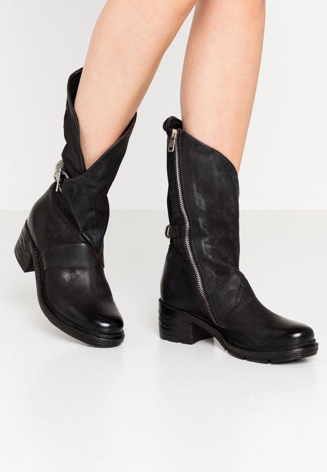 Cowboystøvler - nero
