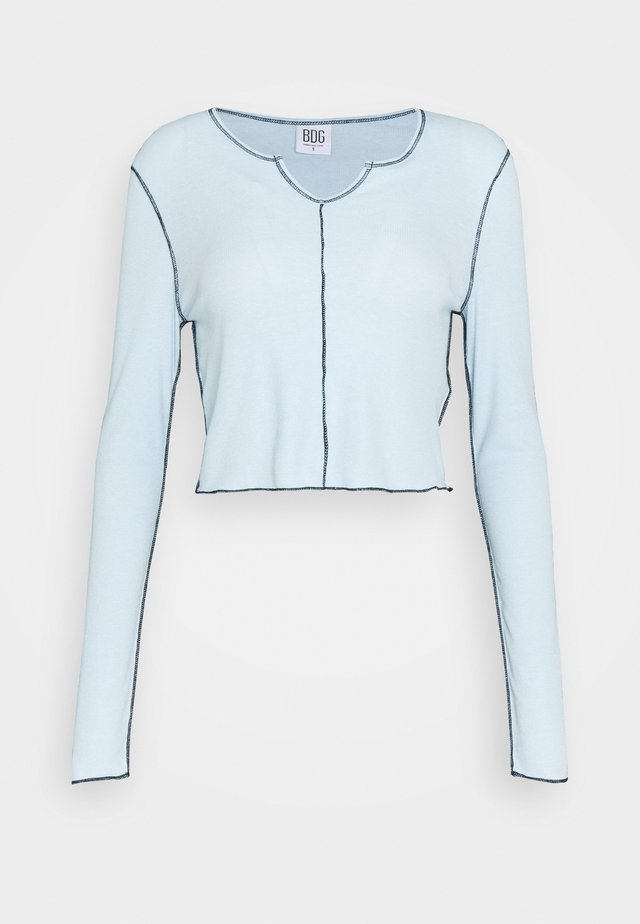 BABYLOCK CUTOUT - Long sleeved top - winter sky