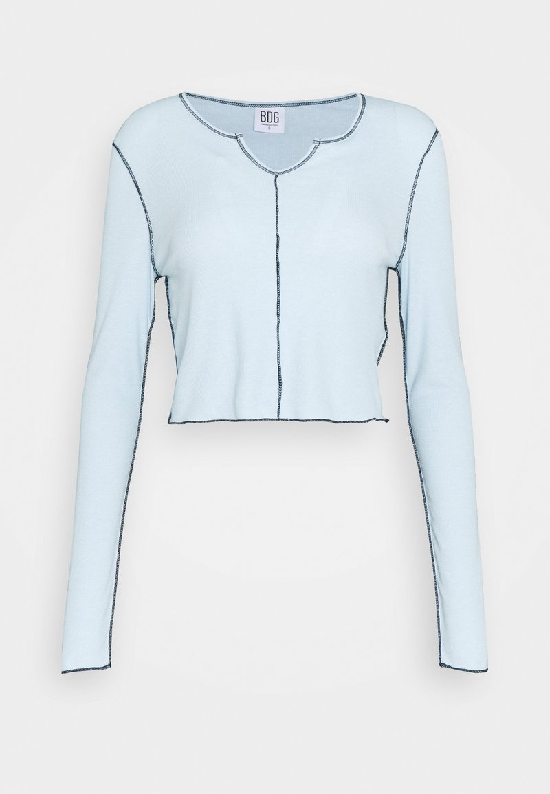BDG Urban Outfitters - BABYLOCK CUTOUT - Long sleeved top - winter sky
