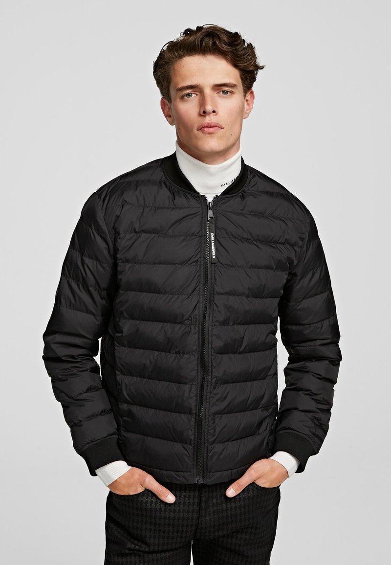 KARL LAGERFELD - Winter jacket - black