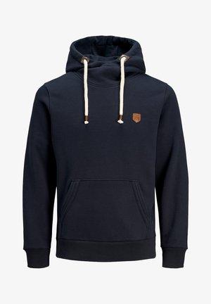 JPRBLUTOM HIGH NECK HOOD  - Hoodie - navy blazer