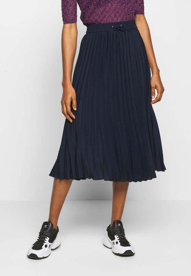 PIPER SKIRT - Gonna a campana - navy