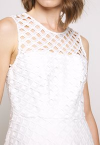 Milly - LATTICE EMBROIDERY ANNEMARIE DRESS - Cocktail dress / Party dress - white - 7