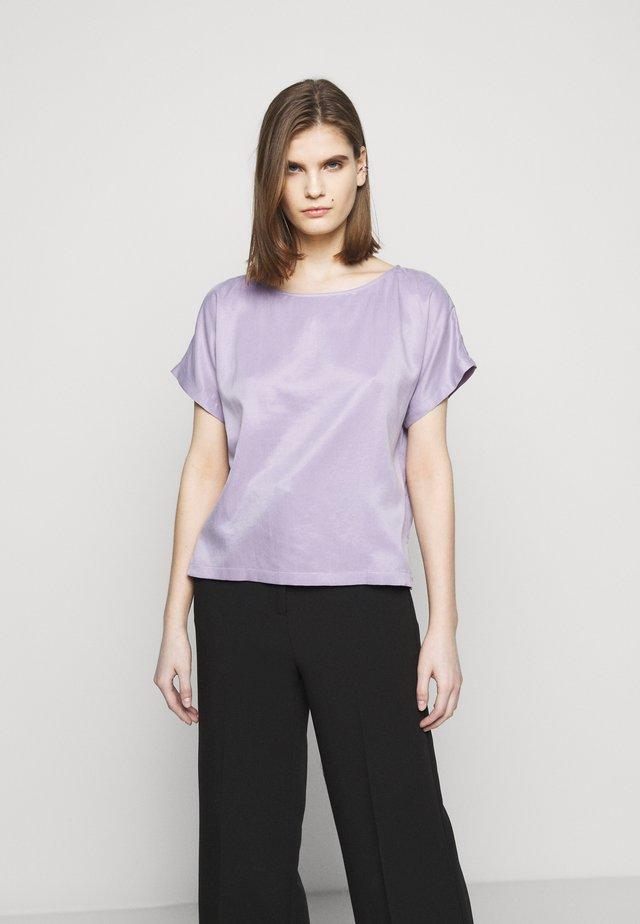 SOMIA - T-shirt basique - lila