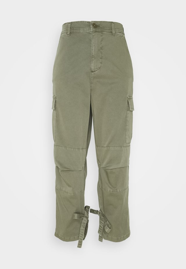 Trousers - verde alpino