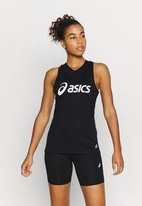 ASICS - TANK - Top - performance black/brilliant white - 0