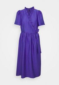YAS - YASIRIS MIDI DRESS - Sukienka letnia - blue iris - 3