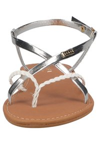 Scapa - T-bar sandals - silver - 6