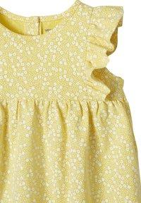 Vertbaudet - Day dress - gelb bedruckt - 2