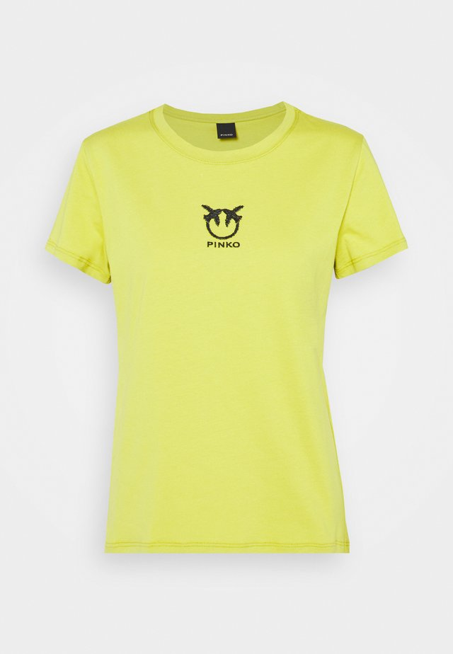 BUSSOLANO  - T-shirt con stampa - green