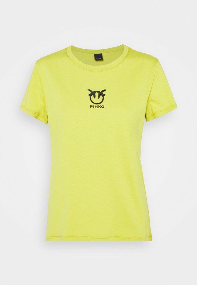 BUSSOLANO  - T-shirt z nadrukiem - green