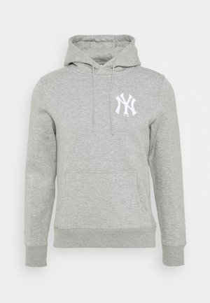MLB NEW YORK YANKEES ICONIC ASSET GRAPHIC HOODIE - Club wear - sport grey