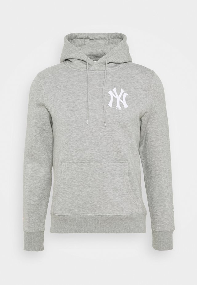 MLB NEW YORK YANKEES ICONIC ASSET GRAPHIC HOODIE - Squadra - sport grey