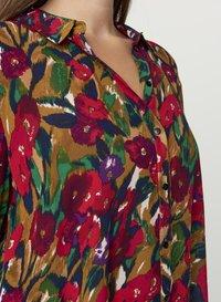 Zizzi - Button-down blouse - army - 3