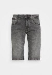 Tommy Jeans - RONNIE - Shorts di jeans - devon grey stretch - 4