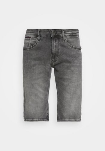 RONNIE - Shorts di jeans - devon grey stretch