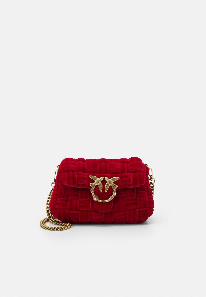Pinko - LOVE MINI PUFF - Across body bag - red