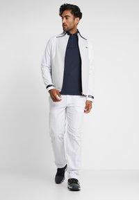 Lacoste Sport - QUARTER ZIP - Sports shirt - navy blue - 1