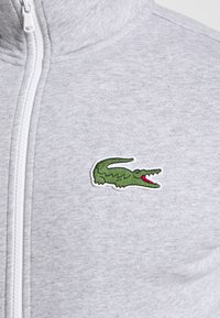 Lacoste Sport - TRACKSUIT - Survêtement - silver chine/green/white - 9