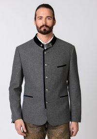 Stockerpoint - QUINTUS - Blazer jacket - stone-night blue - 0